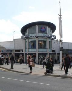 Churchill Square Shopping centre in Brighton.