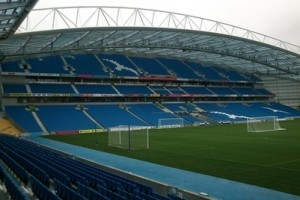American Express Community Stadium in Brighton.