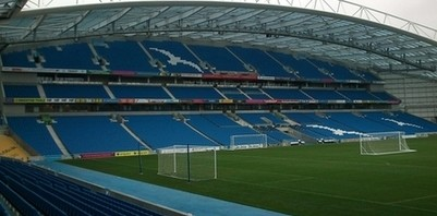 Brighton and Hove football stadium