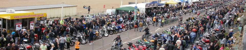 Brightona 2015 – the Brighton's seafront bike show