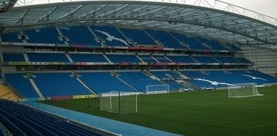 Brighton and Hove football stadium